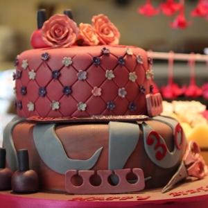 Make up celebration cake