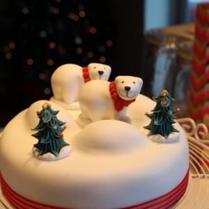 Polar bear Christmas cake (Copy)