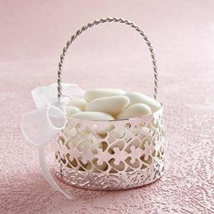 Sugar almond basket favour