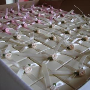 Wedding box favours